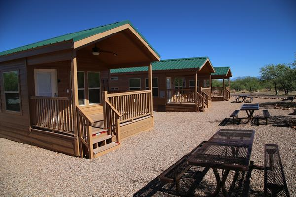 Arizona Cabin Rentals at Kartchner Caverns State Park