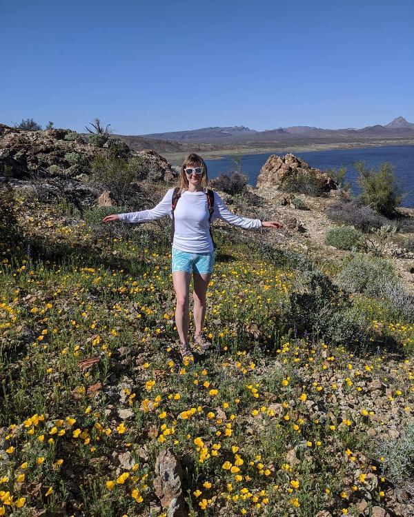 Alamo Lake WIldflowers