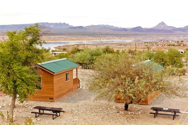 Alamo Lake Camping Cabins