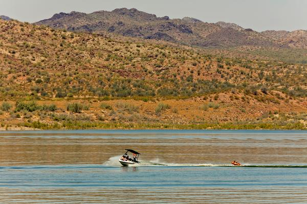 Alamo Lake Boating