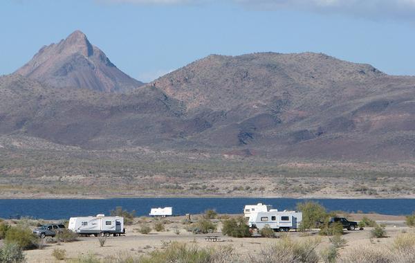 Alamo Lake RV Tent Camping