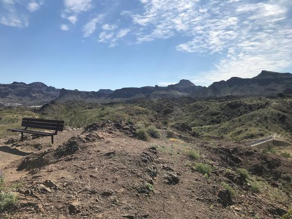 Enjoy open air views from the Buckskin Loop Trail