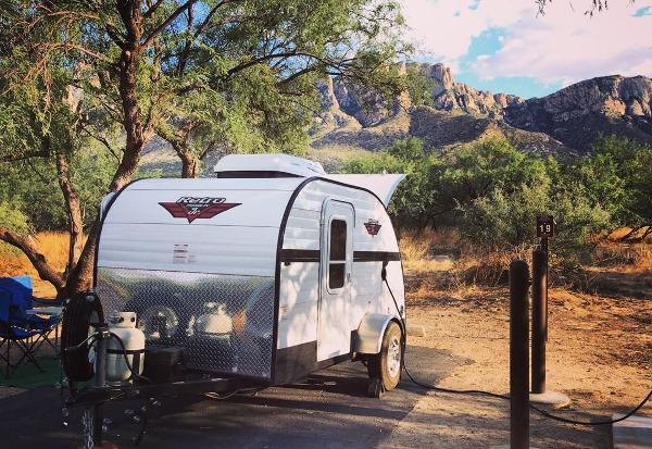 Catalina State Park- Tucson area camping