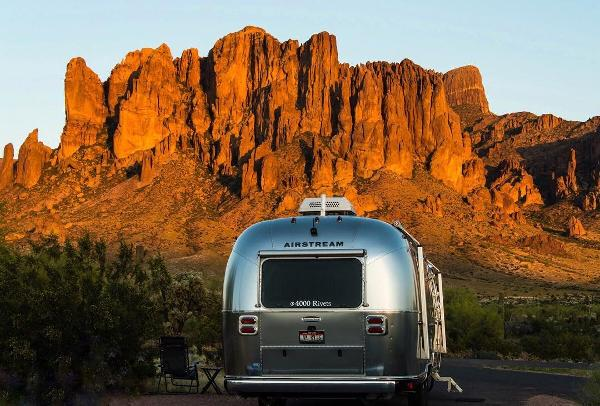 Camping at Lost Dutchman