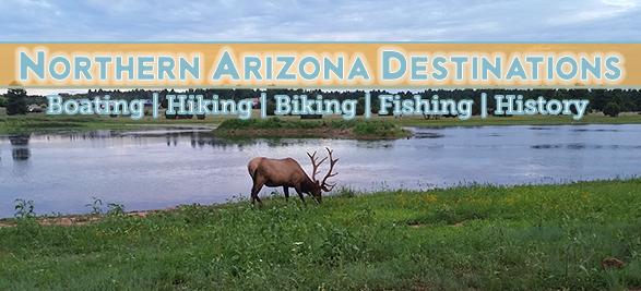 Summer vacation destinations in Northern Arizona