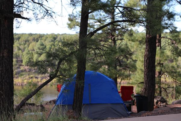 Camping & RV Sites available in this campground with a view.