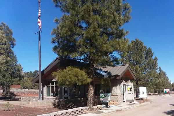 Fool Hollow Lake, AZ Ranger station
