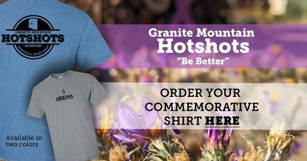 Purchase commemorative Hotshots shirt