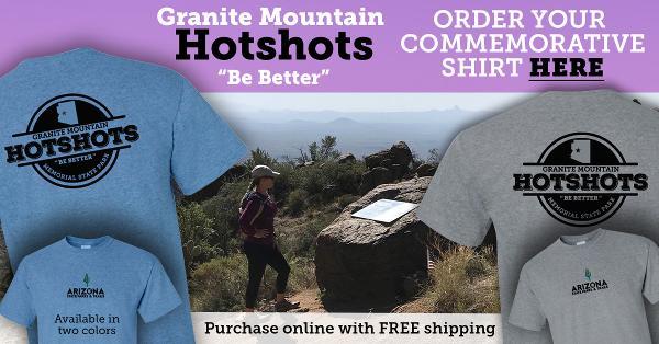 Commemorative Hotshots Shirts