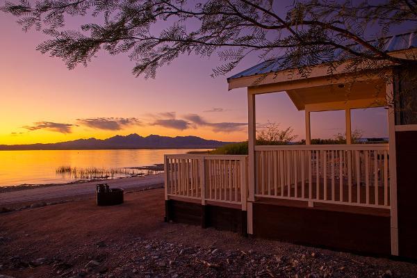 Lake Havasu Cabins along the Colorado River