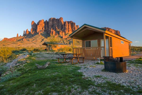 Cabin Rental near Phoenix at Lost Dutchman