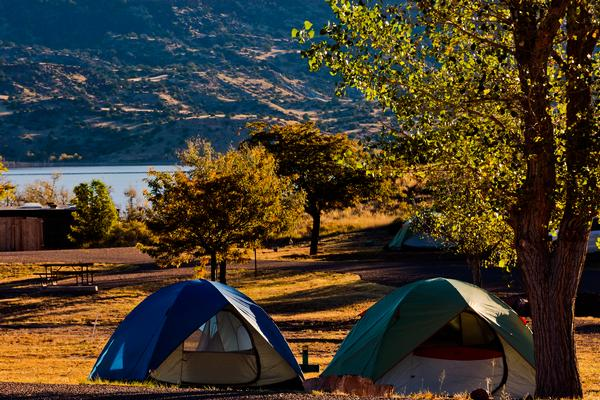 Lyman Lake Camping