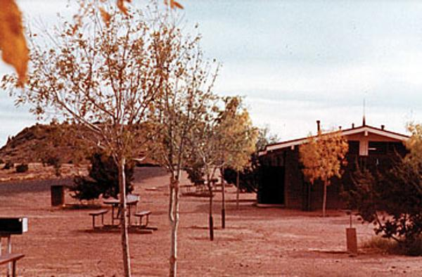 Lyman Lake campground in 1969