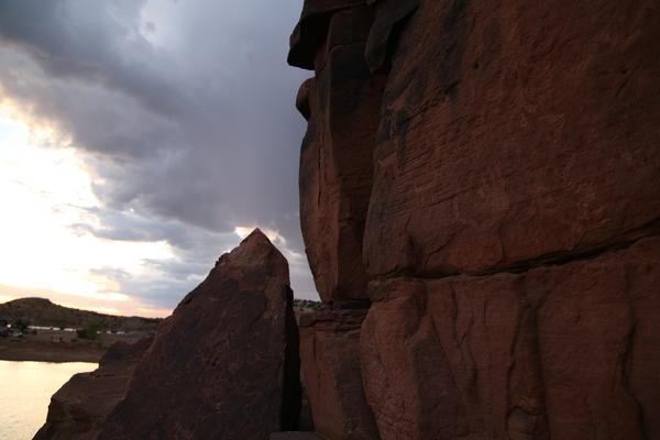 Lyman Lake Petroglyphs