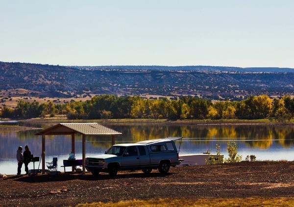 Lyman Lake ramada and picnic shelter