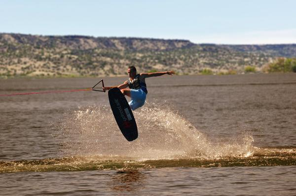 Wakeboarding at Lyman Lake State Park