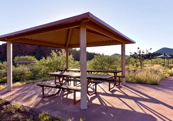 Red Rock State Park Picnic areas