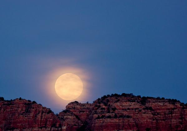 Full moon hikes Sedona- Red Rock State Park.