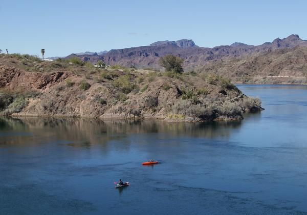 Kayaking on the Colorado River