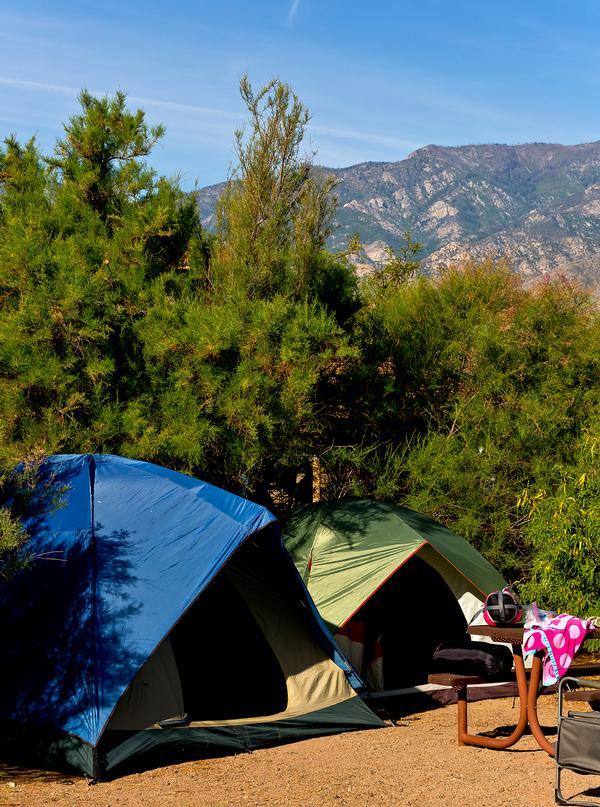 Camping in Arizona- Roper Lake State Park