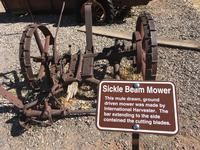 Slide Rock Sickle Beam Mower