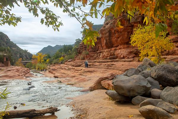 Things to do in Sedona at Slide Rock State Park