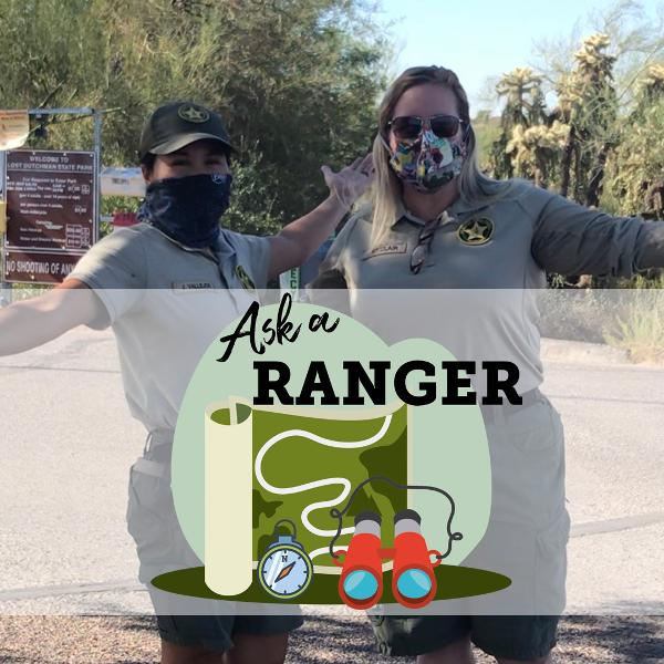Ask a Ranger your questions about Arizona's state parks!