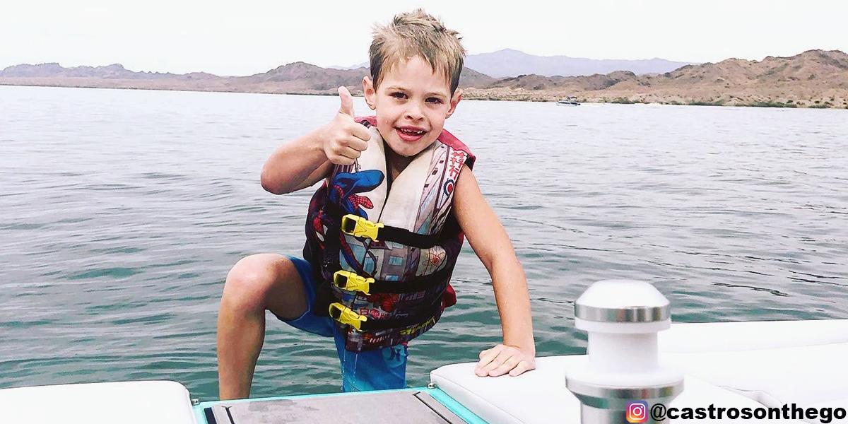 Boating safety- Wear your life vest