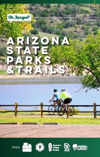 Cover image of the 2020-21 Green Guide from Arizona State Parks and Trails