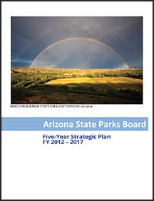 Arizona State Parks publications- Five year strategic plan