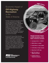Arizona State Parks publications- Economic impact of Off-Highway recreation
