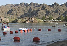 Designated Swimming Area on the Colorado River