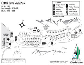 Cattail Cove Park Map