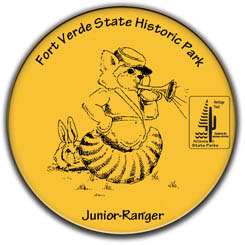 Junior Ranger Button