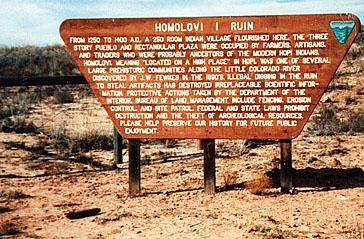 Homolovi 1 Ruin in 1986