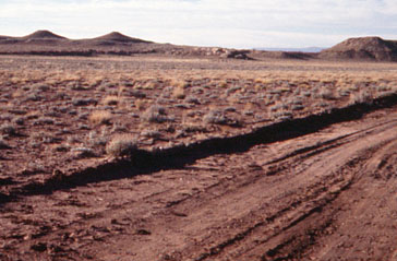 Terrain at Homolovi in 1986