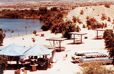 Lake Havasu campground concession in 1969