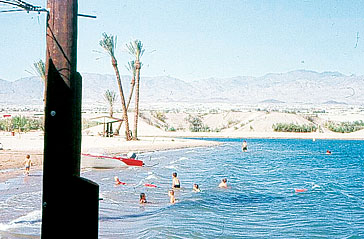 Lake Havasu Beach in 1969