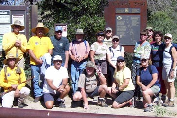 Picacho Peak Volunteer Photograph