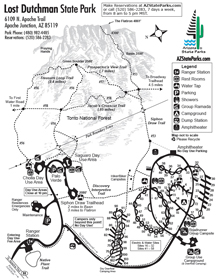 Lost Dutchman Park Map