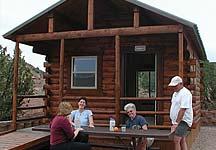 Lyman Lake Camping Cabin