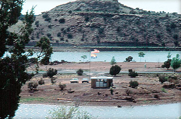 Lyman Lake Contact Station in 1971