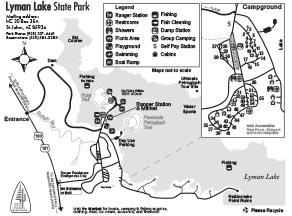 Lyman Lake Park Map
