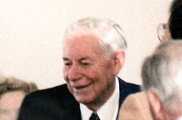 Govenor Ernest McFarland at the dedication ceremony in 1979