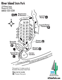 River Island Park Map