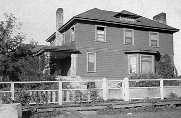 Sisson home which later become Milton Hospital.