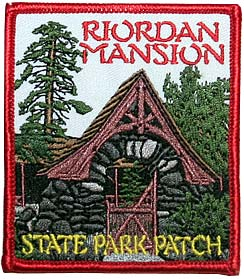 Riordan Mansion Patch