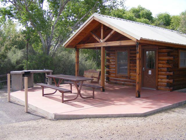 Roper Lake Camping Cabin
