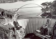 Roosevelt Dam in 1996