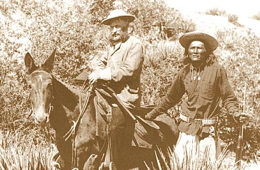 General Crook and Apache Scouts